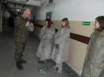 Klasa wojskowa- Zachowanie  w terenie skażonym (odzież OP1)