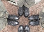 Klasa wojskowa na Kopcu Kościuszki- zajęcia praktyczne