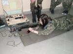 Zajęcia ze strzelectwa na poligonie (IIe)