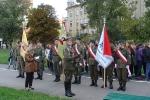 Klasa wojskowa- wmurowanie kamienia węgielnego - Kraków