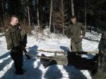klasa wojskowa-Zajęcia zimowe 2015