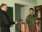 Zajęcia z pożarnictwa