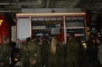 Klasa wojskowa na lotnisku