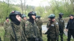 Obóz wojskowy w Bieszczadach