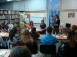 Spotkanie autorskie w bibliotece publicznej