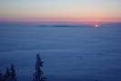 Babia Góra-wschód słońca 26.02.2011