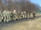 Klasa wojskowa na poligonie